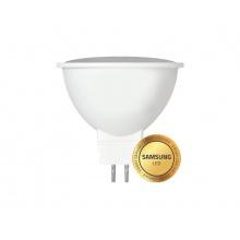 Žárovka LED GU5,3 (MR16) bílá teplá Geti, SAMSUNG čip (230V !!!)