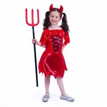 Dětský kostým čertice (M) (od 6 let)