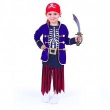 Dětský kostým pirát s šátkem (M) (od 6 let)