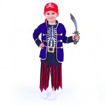 Dětský kostým pirát s šátkem (S) (od 4 let)