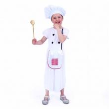 Dětský kostým kuchařka (M) (od 6 let)
