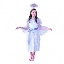 Dětský kostým anděl (M) (od 6 let)