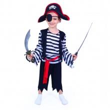 Dětský kostým pirát (M) (od 6 let)