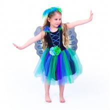 Dětský kostým paví víla (S) (od 4 let)