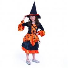 Dětský kostým čarodějnice (S) (od 4 let)