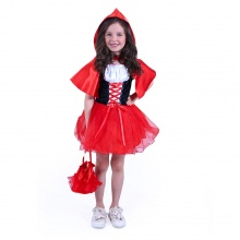 Dětský kostým Karkulka (S) (od 4 let)