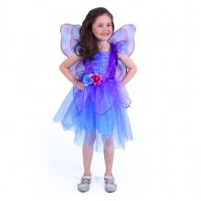 Dětský kostým fialová víla (M) (od 6 let)