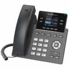 GRP-2612P Grandstream - IP telefon, barevný LCD, 2x SIP účty, 2x RJ45 Mb, POE, 4x prog. tl., 16x BLF
