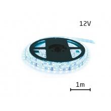 LED pásek 12V 3528  60LED/m IP20 max. 4.8W/m ice blue (cívka 1m)