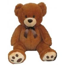 MAC TOYS - Plyšový medvídek - světle hnědý