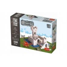 Stavějte z cihel Zámek stavebnice Brick Trick v krabici 32x23x7cm