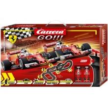Autodráha Carrera GO!!! 62505 Ferrari Race Spirit 5,3m + 2 formule v krabici 58x40x10cm