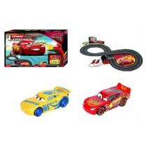 Autodráha Carrera First Auta 3/Cars plast 2,4m na baterie v krabici 50x30x7cm