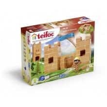 Stavebnice Teifoc Hrádek 120ks v krabici 35x30x5cm