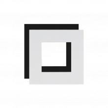 AUDAC CF45S/W Obvodový rámeček pro panely 45x45mm, jednoduchý, bílý