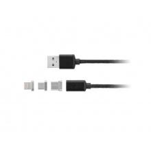 Kabel KRUGER & MATZ KM0458 USB magnetický