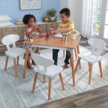 KidKraft Set stolu a 4 židlí Mid-Century