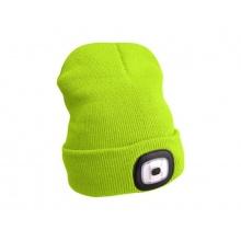 Čepice s čelovkou EXTOL LIGHT EX43194 nabíjecí, žlutá