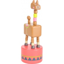 Small Foot Tančící zvířátko Jungle 1ks žirafa