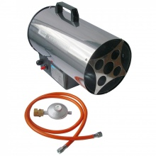 Horkovzdušná plynová turbína GGH 10 INOX
