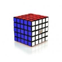 Rubikova kostka hlavolam 5x5x5 plast 7x7x7cm v krabičce 16x17x16cm