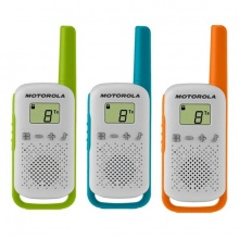 TLKR T42 TRIPLE Motorola - TRIPLE PACK T42 - sada 3 vysílaček PMR446, dosah až 4 km