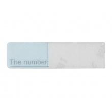 Náhradní jmenovka/štítek pro 2/4-tlač. videotelefony Hikvision DS-KV8202-IM, DS-KV8402-IM