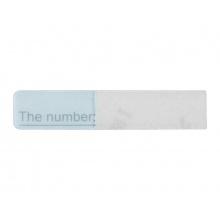 Náhradní jmenovka/štítek pro 1-tlač. videotelefon Hikvision DS-KV8102-IM