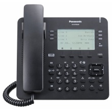 KX-NT630UK-B Panasonic - IP systémový tel., čb. disp. 3,6