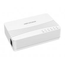 DS-3E0105D-E, switch 5x 10/100Mbps; bez PoE