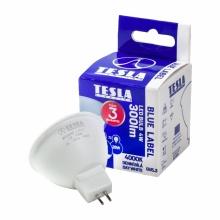 MR160440-7 Tesla - LED žárovka GU5,3 MR16, 4W, 12V, 350lm, 25 000h, 4000K denní bílá, 100°