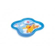 nafukovací bazén Medvídek Pú se sprškou, 140 x 140 x 10 cm ()