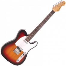Encore E2SB Electric Guitar 3 Tone Sunburst