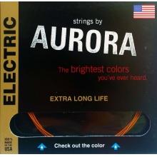 Aurora Premium Electric Guitar Strings Extra Heavy 12-52 Clear