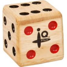 IQ Plus Small Wooden Dice Shaker