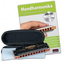 Cascha HH 1610 EN Professional Blues Harmonica Set