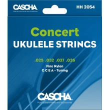 Cascha Premium Concert Ukulele Strings Set