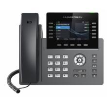 GRP-2615 Grandstream - IP telefon, barevný LCD, 5x SIP účty, 2x RJ45 Gb, POE, 5x prog. tl., 40x BLF, WIFI