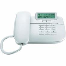 GIGASET-DA611-WHITE Gigaset - standardní telefon s displejem, CLIP, 10 kláves rychlé volby, handsfree, barva bílá