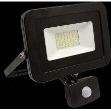 FL235040-PIR Tesla - LED reflektor, 50W, 4800lm, 230V, 4000K, 30 000h, CRI >80, IP65, 120° s čidlem