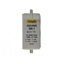 Anténní zesilovač TEROZ 428X s pásmovou propustí pro K23 až K48 (486 až 690 MHz) F-F 5G