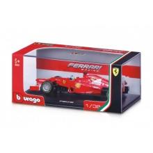 Auto Bburago 1:32 Ferrari Racing formule kov/plast 2 druhy v plastové krabičce 16,5x7x9  12ks v boxu