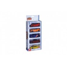 Auto Bburago Street Fire 5ks kov/plast 1:43 v krabičce 13,5x32x6cm