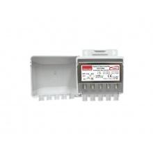 Předzesilovač anténní Emme Esse 83516AG, na stožár, +20dB, VHF+UHF s AGC, filtr LTE