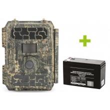 Fotopast OXE Panther 4G, externí akumulátor a napájecí kabel + 32GB SD karta, SIM, 12ks baterií a doprava ZDARMA!