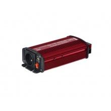 Měnič napětí Geti GPI 612 12V/230V 600W USB