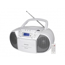 Rádio s CD/USB/BT/KAZE SENCOR SPT 3907 W