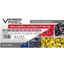 Sada kabelových dutinek VT, 625-dílná