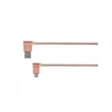 Kabel KRUGER & MATZ KM0361 USB C růžový