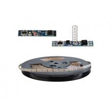 LED pásek sada 20m 12V 2835  60LED/m IP20 max. 6W/m bílá teplá extra, gold + TD311 + LSS309